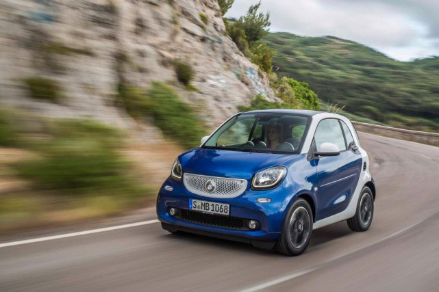 Smart ForTwo... (photo fournie par le constructeur)