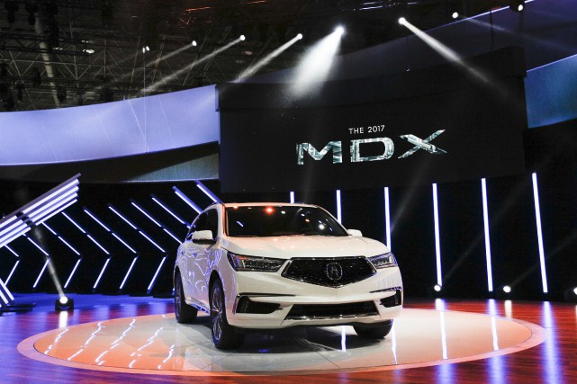 Le Acura MDX... (Photo Brendan McDermid, archives REUTERS)