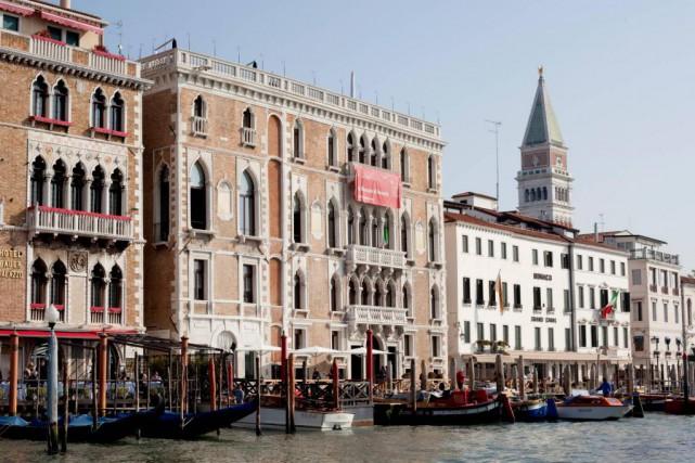 Palais gothique du XVe siècle situé non loin... (Photo Giulio Squillacciotti, fournie par la Biennale de Venise)