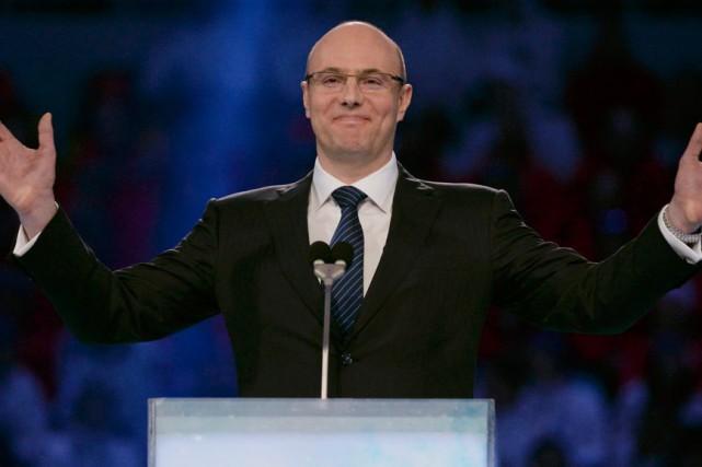 Le président de la Ligue de hockey continentale... (Photo Jung Yeon-Je, archives Reuters)