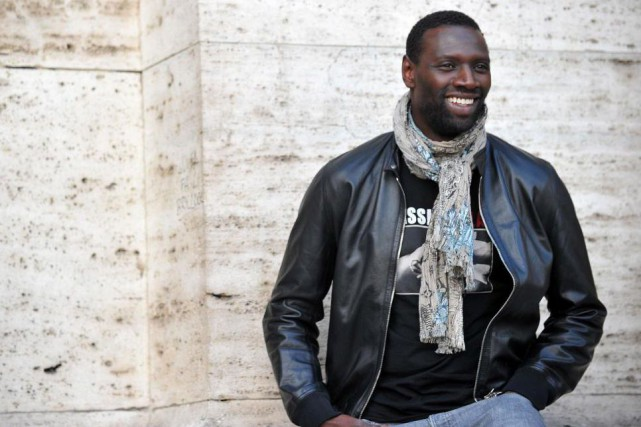 Omar Sy... (Photo TIZIANA FABI, Archives Agence France-Presse)