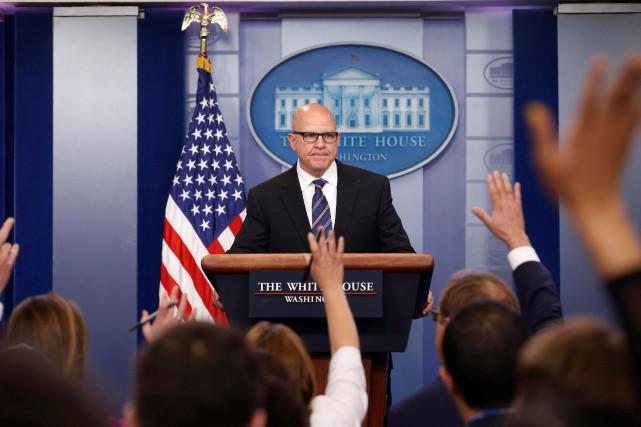 Le conseiller à la Sécurité nationaleH.R. McMaster n'a... (PHOTO REUTERS)