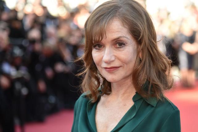 Isabelle Huppert lors de la présentation du film... (PHOTO ARCHIVES AFP)