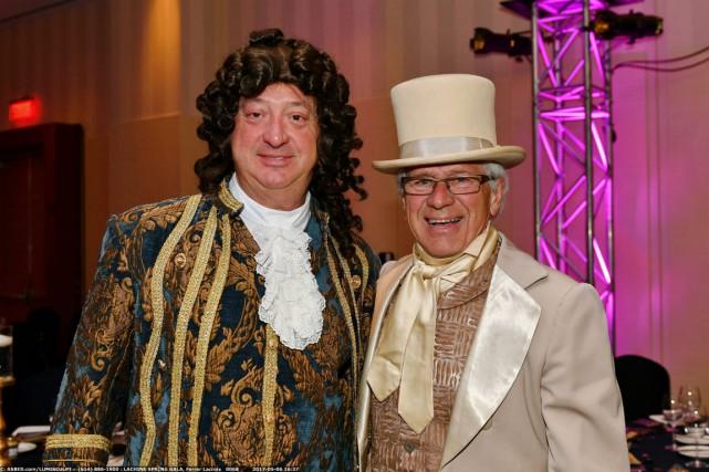 Claude Dauphin et Edgar Rouleau.... (Photo fournie par la Fondation)