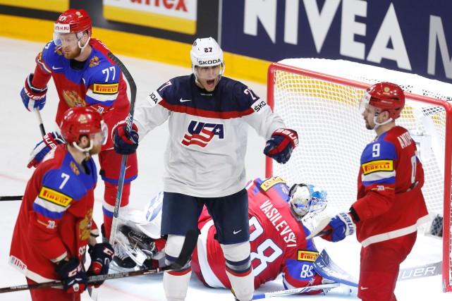 Les États-Unis sont venus de l'arrière trois fois pour infliger un premier... (PHOTO AFP)