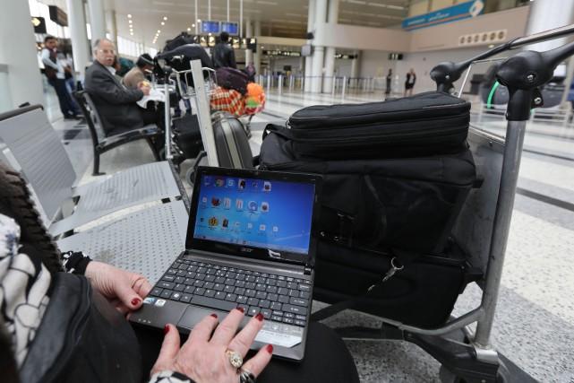 Une interdiction américaine sur les ordinateurs portables pourrait... (PHOTO AFP)
