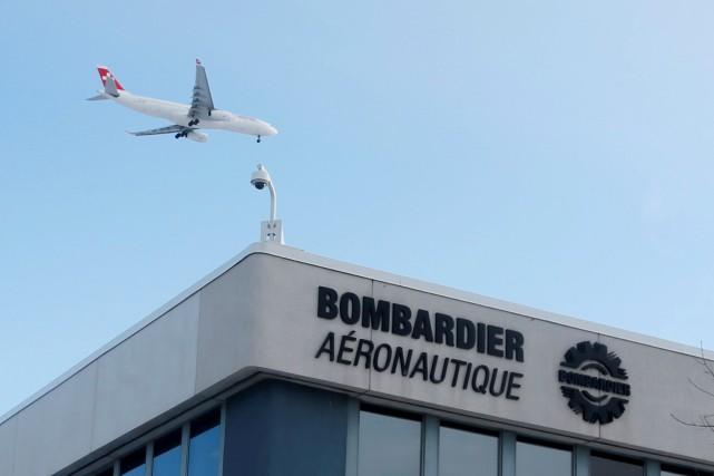 Bombardier remerciera des centaines de salariés de ses services informatiques... (PHOTO ARCHIVES REUTERS)
