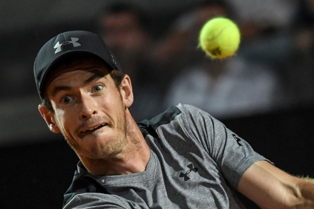 Andy Murray... (PHOTO ARCHIVES AGENCE FRANCE-PRESSE)