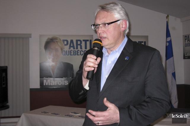 Le député Gaétan Lelièvre a été exclu du... (Photothèque Le Soleil)