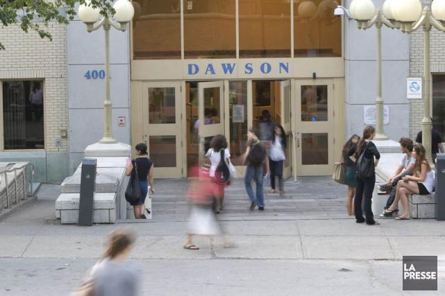 Le Collège Dawson, un cégep anglophone situé à... (Archives La Presse)