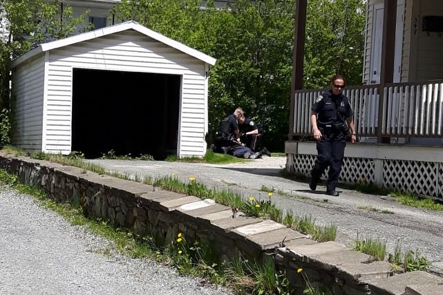 Le suspect de 30 ans a été interpellé... (Photo fournie)