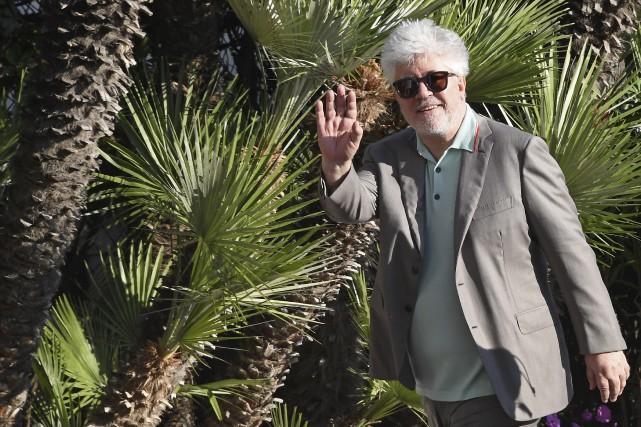 Le cinéaste espagnol Pedro Almodovar, président du jury,... (AFP, Anne-Christine Poujoulat)