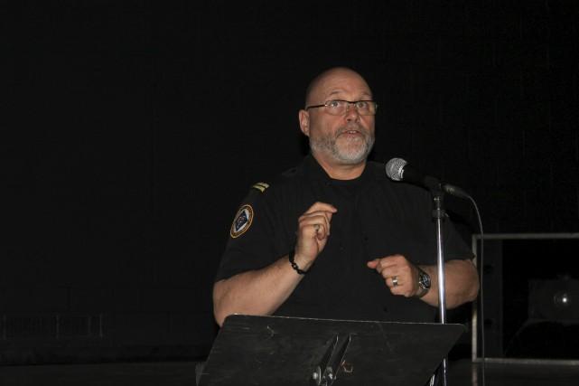Philippe Geoffrion, gestionnaire des situations d'urgence en Ontario... (Martin Brunette, Le Droit)