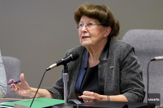 La mairesse de Bromont, Pauline Quinlan.... (Alain Dion, archives La Voix de l'Est)