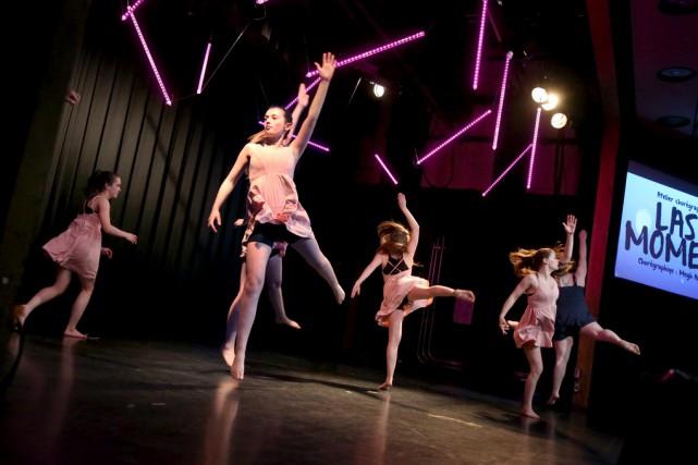 Les élèves de la Voie Danse de l'école... (Julie Catudal)