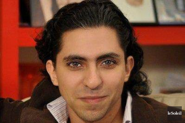Raïf Badawi recevra un doctorat honorifique de l'Université... (Archives, La Presse)