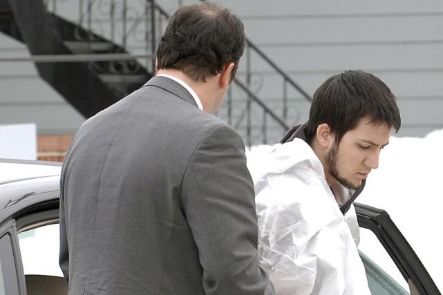 Toby Carrier est accusé du meurtre de son... (Collaboration spéciale Steeve Paradis)