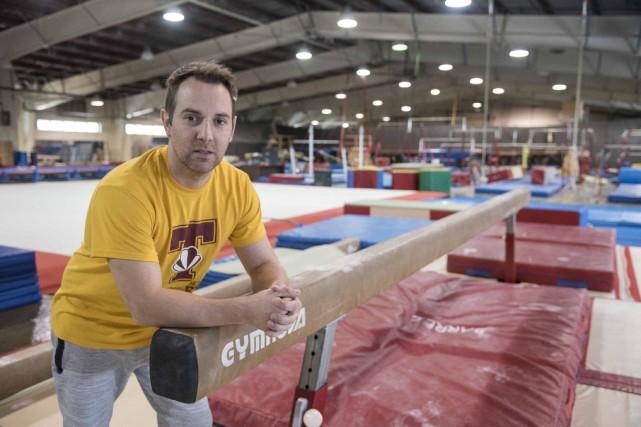 David Altmeyer, directeur technique du Club de gymnastique... (Spectre média, Frédéric Côté)