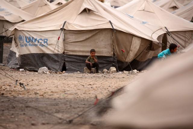 Les civils arrivent depuis des mois dans le... (AFP)