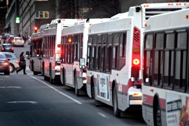 La nouvelle Autorité régionale de transport métropolitain (ARTM)aura... (Photo Bernard Brault, Archives La Presse)