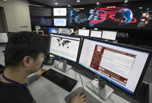 Après l'attaque au «rançongiciel» WannaCry reperée vendredi, les... (Photo archives AFP)