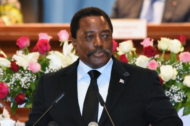 Le président de la République démocratique du Congo... (Photo Kenny Katombe, archives REUTERS)