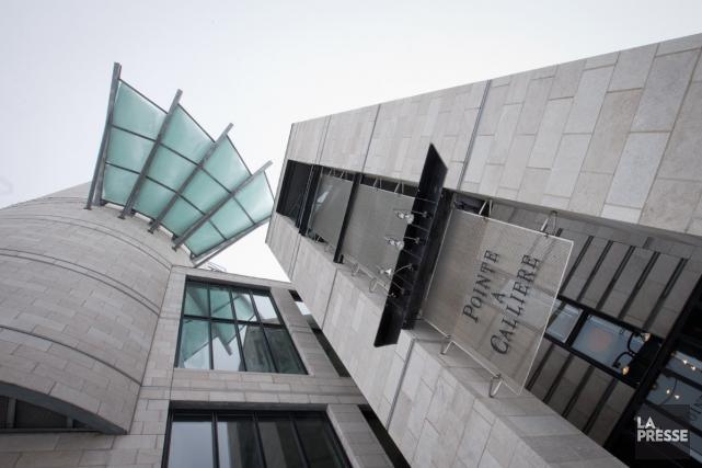 Pointe-à-Callière inaugure cet après-midi son septième pavillon.... (Photo IVANOH DEMERS, Archives La Presse)