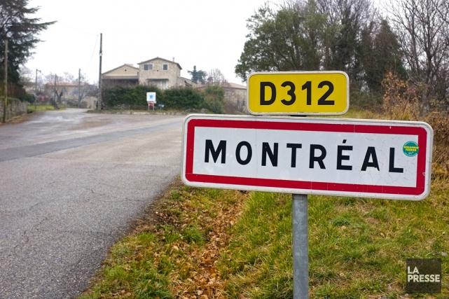 Bienvenue à Montréal, en Ardèche, dans le sud... (Photo Jean-Christophe Laurence, La Presse)