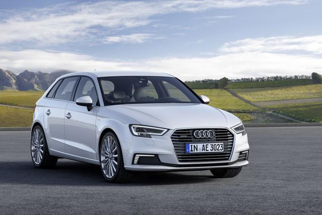 Audi A3 e-tron... (Photo fournie par Audi)