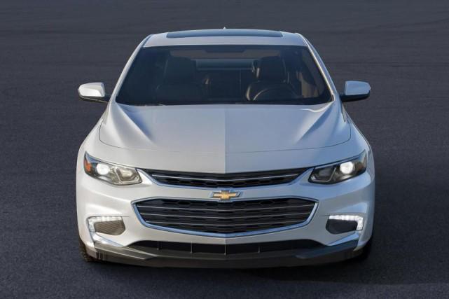 Chevrolet Malibu... (Photo fournie par Chevrolet)