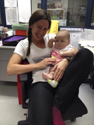 L'infirmière se souvient d'avoir été conviée, par une... (Photo fournie par Julie McCormick)