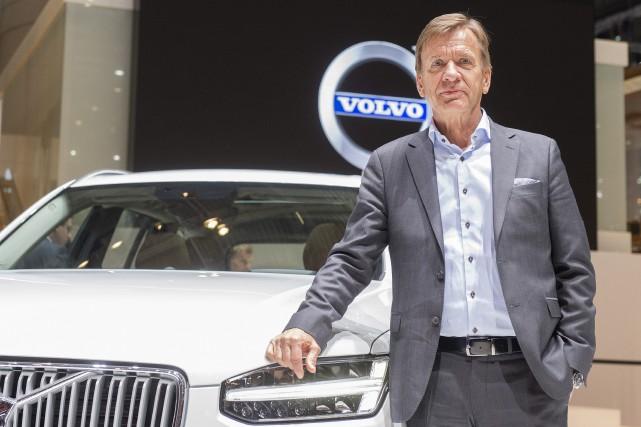 Le président de Volvo Hakan Samuelsson.... (Photo Sandro Campardo, archives Keystone via AP)