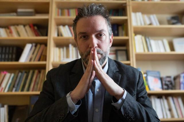 Jean-Simon DesRochers retourne au roman choral avec L'année... (PHOTO SIMON GIROUX, LA PRESSE)