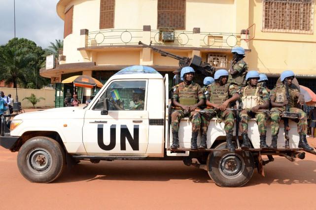 Les violences à Bangassou soulignent une nouvelle fois... (ARCHIVES AFP)