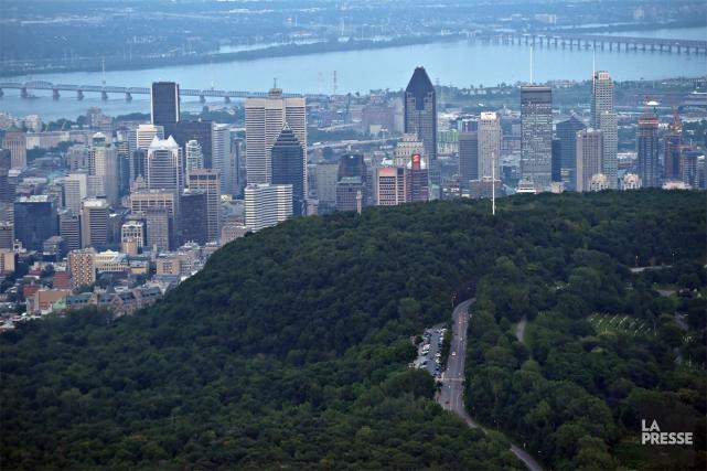 Montréal a inspiré de nombreuses oeuvres d'art depuis... (PHOTO BERNARD BRAULT, ARCHIVES LA PRESSE)