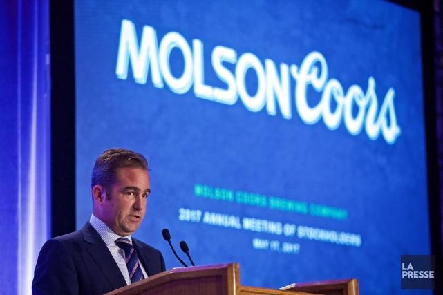 Le président du conseil d'administration de Molson, Geoff... (PHOTO ANDRÉ PICHETTE, LA PRESSE)