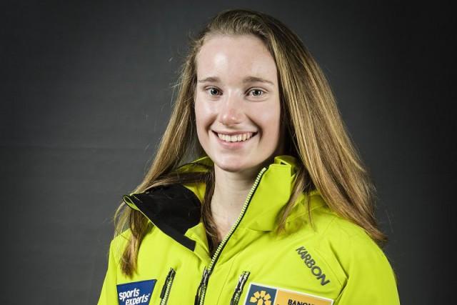 Sierra Smithest la première skieuse alpine née dans... (Courtoisie)