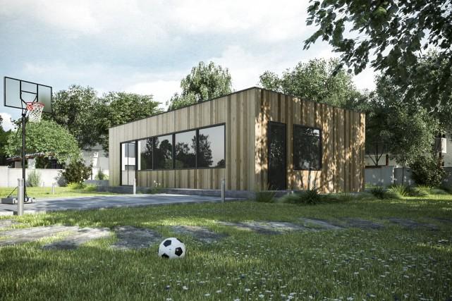 Les conteneurs transformés en maisons démocratisent l'architecture, croient... (fournie par Thinking Habitat)