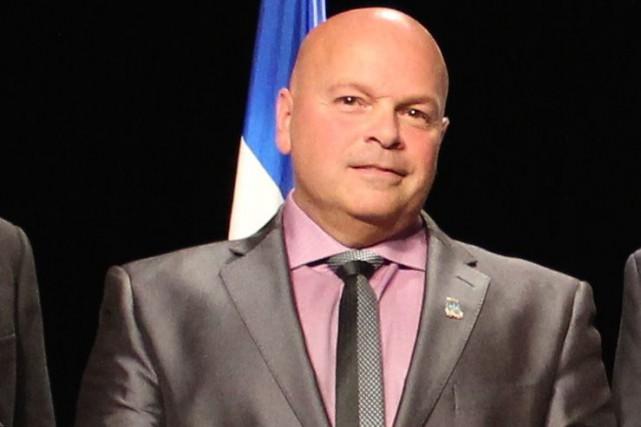 Luc Martel va solliciter un quatrième mandat comme... (Audrey Tremblay, Le Nouvelliste)