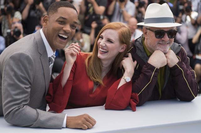 Les membres du jury du 70eFestival de Cannes... (AP, Arthur Mola)