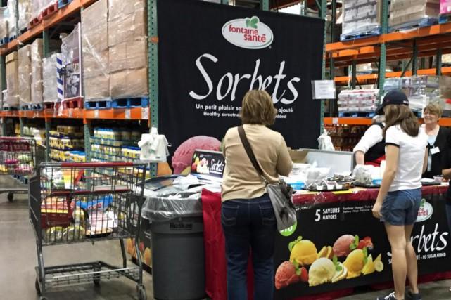 Responsable de gérer les dégustations chez Costco depuis... (Photo Hugo-Sébastien Aubert, La Presse)