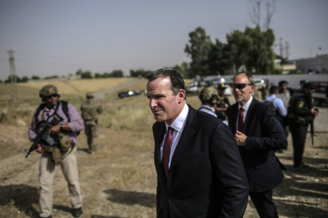 Brett McGurk... (Photo Bram Janssen, archives Associated Press)