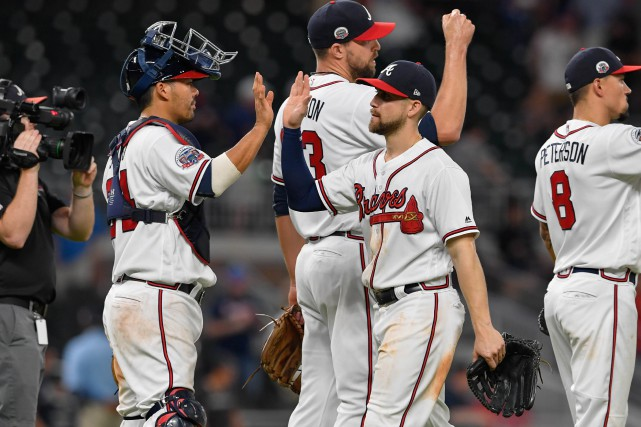 Kurt Suzuki a couronné une première manche de six points en frappant un circuit... (Photo Dale Zanine, USA Today Sports)