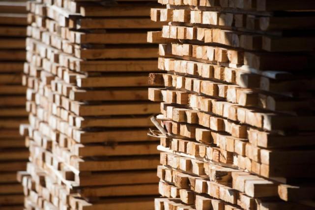 La guerre du bois d'oeuvre entre le Canada... (Photo Jonathan Hayward, Archives La Presse canadienne)