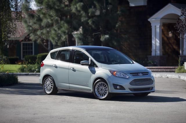 Ford C-Max... (Photo fournie par Ford)