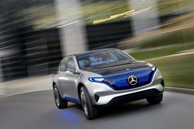 La Mercedes EQ Concept.... (PHOTO FOURNIE PAR MERCEDES)