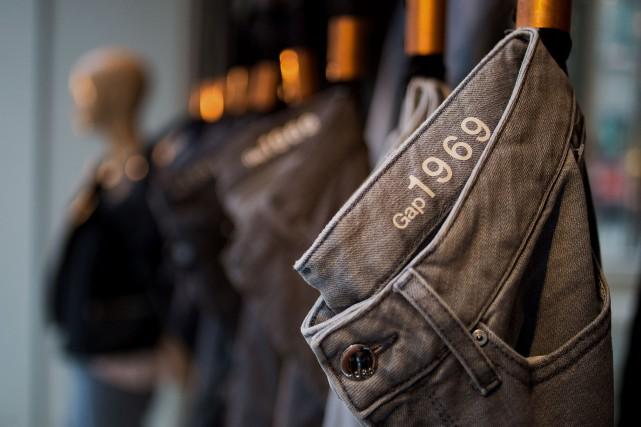 Les marques de l'habillement américaines comme Gap souffrent... (Photo Craig Warga, archives Bloomberg)