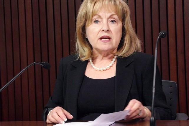 Madeleine Meilleur se présente devant les députés du... (Photo Colin Perkel, archives PC)
