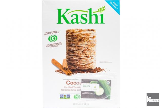 Ces céréales de Kashi sont faites avec des... (PHOTO EDOUARD PLANTE-FRÉCHETTE, LA PRESSE)