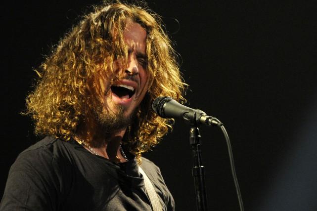 Chris Cornell est considéré comme l'un des chanteurs... (PHOTO Chris Pizzello ARCHIVES AP)